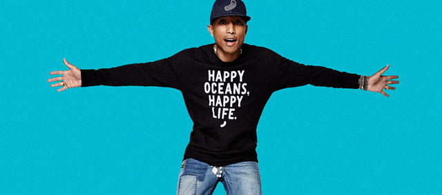 pharrell williams stars in g star raw 39 raw for the ocean 39 campaign colorising. Black Bedroom Furniture Sets. Home Design Ideas