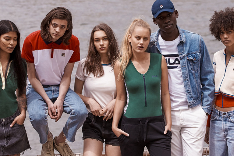 62797e1b24e Fila x Urban Outfitters Collaboration Collection – ColoRising